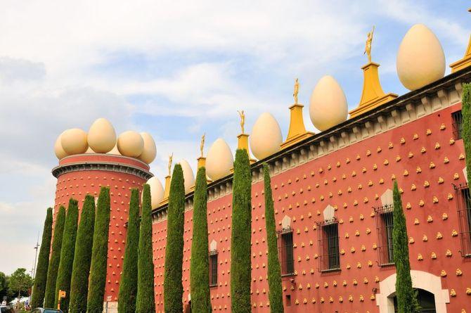 Muzeum Salvadora Dalego w Figueres Fot. HRS