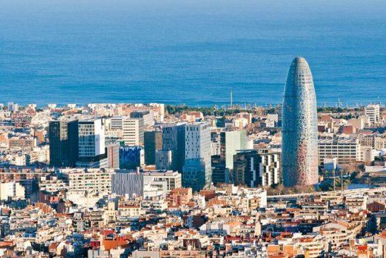 Wieżowiec Torre Agbar w Barcelonie