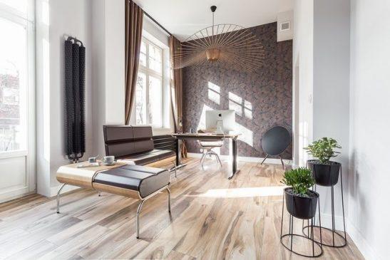 Małe mieszkanie to połączenie tradycji z nowoczesnością. Fot. Zdjęcia: Weronika Trojanowska/Photografer