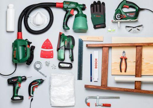 Potrzebne do zrobienia garderoby materiały i narzędzia