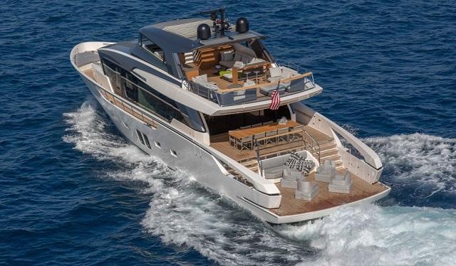 współczesny jacht
