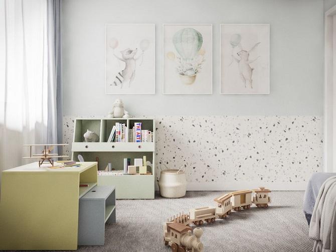 Aranżacja wnętrz, architektura wnętrz, wystrój pokoju dla dziecka