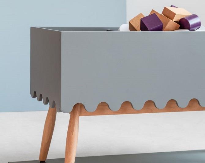 Linoleum, architektura wnętrz