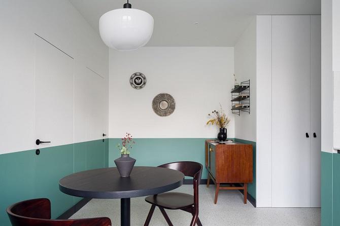 Mieszkanie retro i nowoczesne