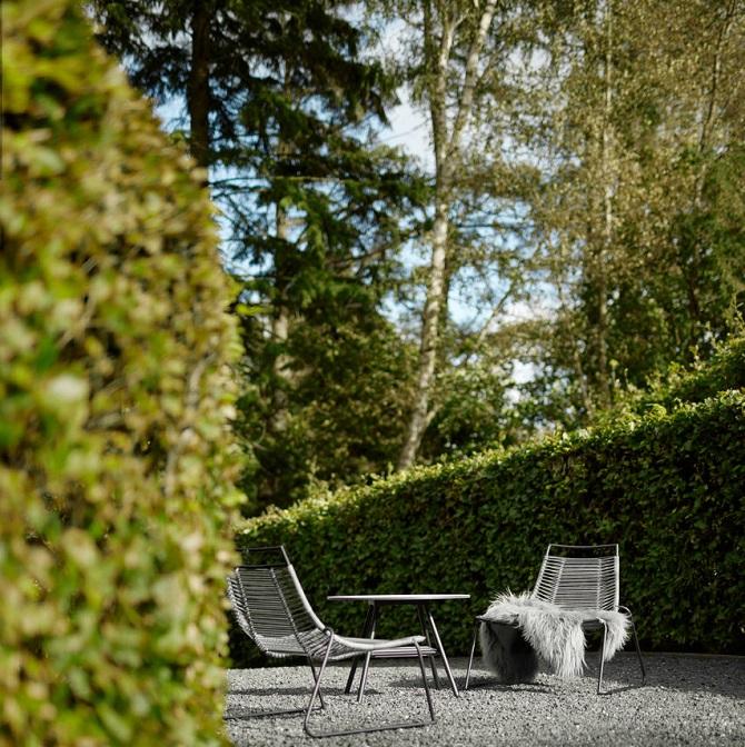 ogród, skandynawski styl