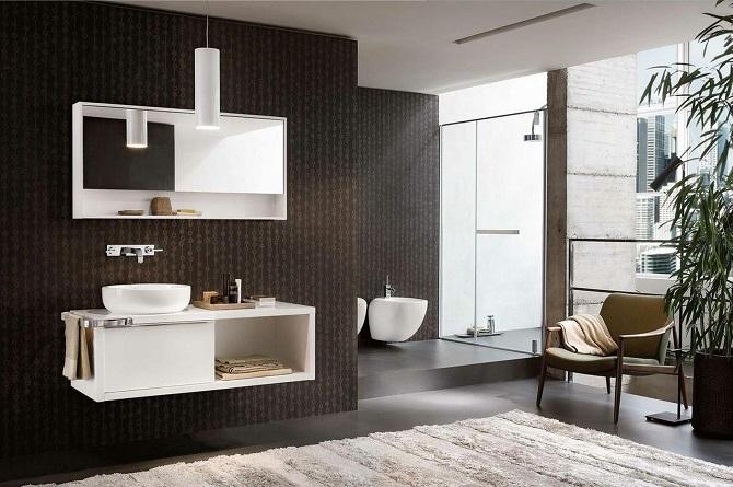 Umywalki, bidety, toalety, łazienki