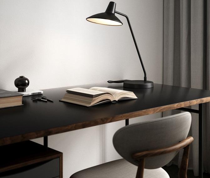 Lampy stołowe, oświetlenie w domu
