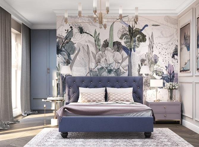 Przytulne mieszkanie z motywem kwiatów